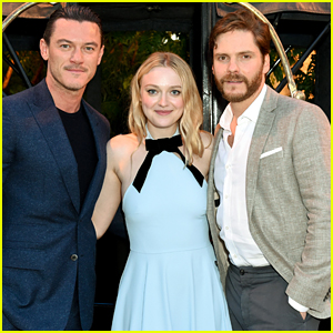Luke Evans, Dakota Fanning, & Daniel Bruhl Promote 'The Alienist' at Emmy For Your Consideration Event!