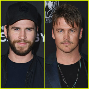 Liam & Luke Hemsworth Hit the Red Carpet at 'Andy Iron's Kissed By God' Premiere!