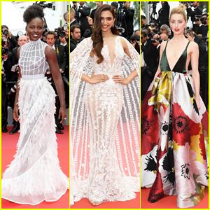 Lupita Nyong'o, Deepika Padukone & Amber Heard Stun at 'Sorry Angel' Cannes Festival Premiere!