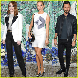Emma Stone, Sienna Miller, Justin Theroux & More Stars Attend Louis Vuitton Cruise 2019 Show in France!
