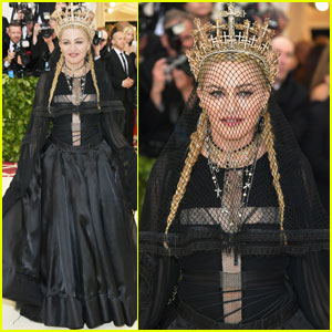Madonna Hits the Carpet Ahead of Met Gala Performance!