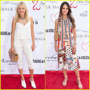 Malin Akerman & Jordana Brewster Support Open Hearts Foundation's Young Hearts Spring Gala!