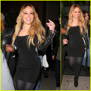 Mariah Carey & Boyfriend Bryan Tanaka Go on a Dinner Date in Beverly Hills