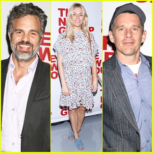 Mark Ruffalo, Sienna Miller & More Step Out To Support Opening Night of 'Peace for Mary Frances'!