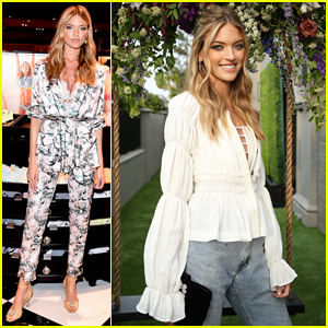 Martha Hunt Launches New Victoria's Secret Bra Collection & Hosts Summer Soiree!