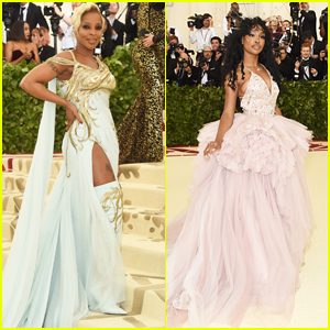 Mary J. Blige & SZA Bring the Glamour to Met Gala 2018