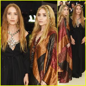 Mary-Kate & Ashley Olsen Hit the Red Carpet at Met Gala 2018!