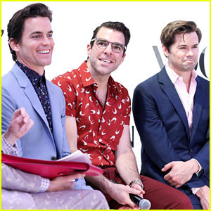 Matt Bomer & Zachary Quinto Join 'Boys in the Band' Cast for Vogue & Nordstrom Event!