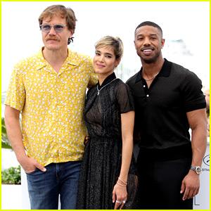 Michael B. Jordan Attends 'Fahrenheit 451' Cannes Photo Call