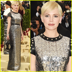 Michelle Williams Dazzles in Louis Vuitton at Met Gala 2018