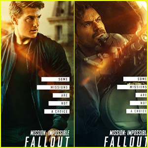 'Mission: Impossible -  Fallout' Character Posters Revealed!