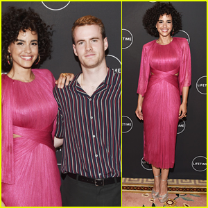 Murray Fraser & Parisa Fitz-Henley Step Out for Lifetime's 'Harry & Meghan' Premiere!