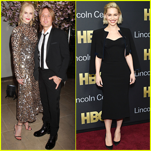 Nicole Kidman & Emilia Clarke Step Out for HBO Event in NYC!