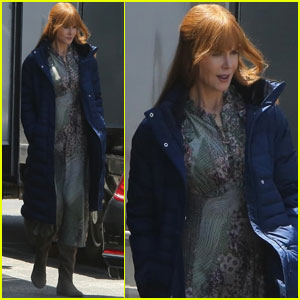 Nicole Kidman Gets Back to Work on 'Big Little Lies'