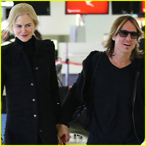 Nicole Kidman & Keith Urban Hold Hands Jetting Out of Sydney
