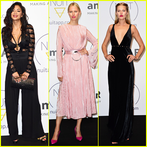 Nicole Scherzinger, Karolina Kurkova & Toni Garn Step Out for pre-amfAR Gala Cannes Party!