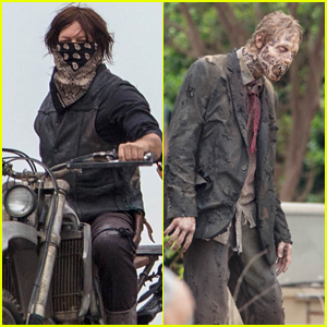 Norman Reedus & 'Walking Dead' Cast Battle Walkers in New Set Photos!