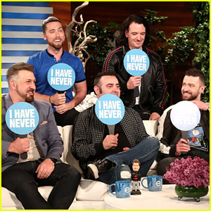 *NSYNC Plays 'Never Have I Ever' During Surprise Appearance on 'Ellen' (Video)