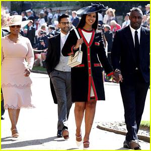 Oprah Winfrey Arrives at Royal Wedding with Idris Elba!