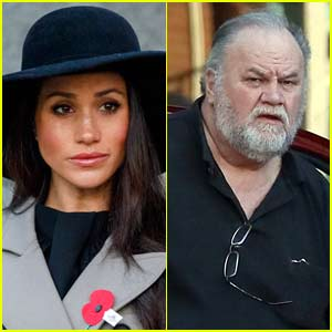 Meghan Markle's Dad Spotted for First Time After Royal Wedding (Photos)