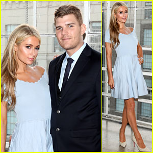 Paris Hilton & Fiance Chris Zylka Support a Good Cause at Pop-Up Restaurant