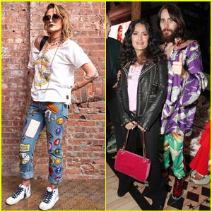Paris Jackson, Jared Leto, & More Celebrate Gucci's New Store in Soho!