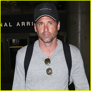 Patrick Dempsey Looks Super Tan Jetting Into LAX!