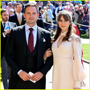Patrick j adams supports tv wife meghan markle at royal wedding patrick j adams supports tv wife meghan markle at royal wedding thecheapjerseys Gallery