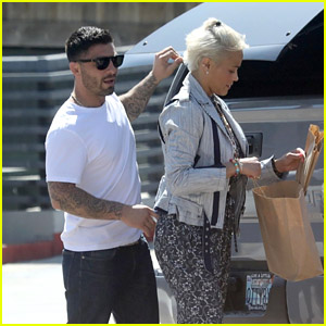 Paula Patton & Boyfriend Zachary Quittman Go Mother's Day Shopping in Malibu!