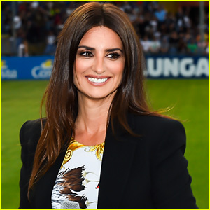 Penelope Cruz Stuns at Game of the Heart Charity Match in Italy!