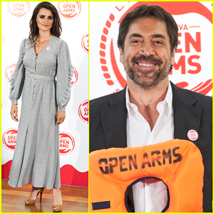 Penelope Cruz & Javier Bardem Step Out for Open Arms Humanitarian Event