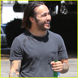 Pete Wentz Steps Out After Welcoming New Baby Girl!