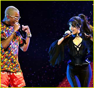 Camila Cabello & Pharrell Perform 'Sangria Wine' at Billboard Music Awards 2018 (Video)