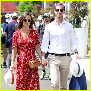 Pippa Middleton & James Matthews Attend French Open 2018!