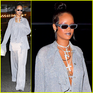 Rihanna Switches It Up for Met Gala 2018 After Party!
