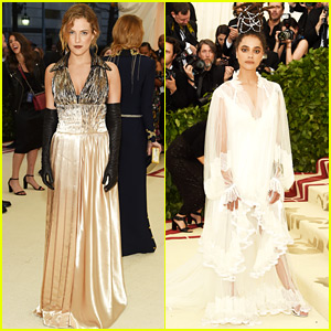 Riley Keough & Sasha Lane Are Met Gala Gorgeous!