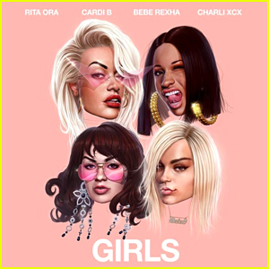 Rita Ora: 'Girls' feat. Cardi B, Charli XCX, & Bebe Rexha Stream, Lyrics, & Download - Listen Now!