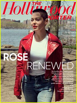Rose McGowan Talks Matt Lauer, Jill Messick, Harvey Weinstein & More in 'THR'