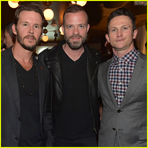 Ryan Kwanten & Jonathan Tucker Support the Eidos Launch