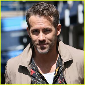 Ryan Reynolds Arrives in London Ahead of the Release of 'Deadpool 2'!