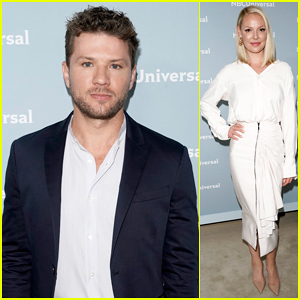 Ryan Phillippe & Katherine Heigl Step Out for NBC Upfronts 2018!