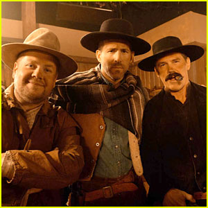 Ryan Reynolds, Josh Brolin, & James Corden Debate Who is 'The Good, The Bad & The Ugly' for Hilarious Western Sketch