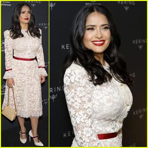 Salma Hayek Discusses Harvey Weinstein Allegations at Cannes