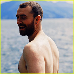 Sam Smith Goes Shirtless on a Relaxing Getaway!