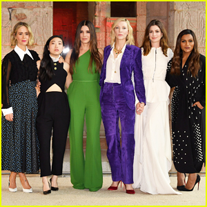 Sandra Bullock, Cate Blanchett & 'Ocean's Eight' Stars Kick Off Promo with Worldwide Photo Call!