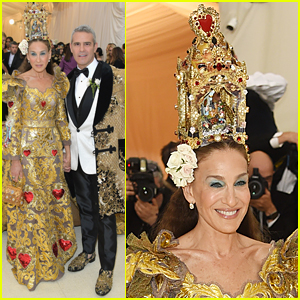 Sarah Jessica Parker is Queen of Hearts at Met Gala 2018