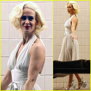 Sarah Paulson Channels Marilyn Monroe for Latest Photo Shoot!