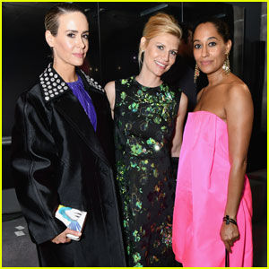 Sarah Paulson, Claire Danes & Tracee Ellis Ross Get Chic at 'Prada' Fashion Show!
