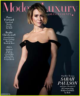 Sarah Paulson Has a Message for the Haters of Her Relationship with Holland Taylor
