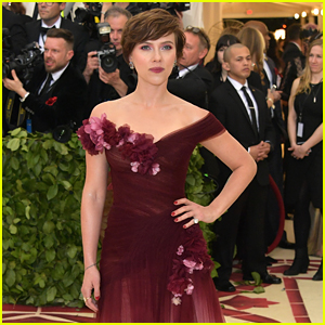 Scarlett Johansson Defends Choice to Wear Marchesa Gown to Met Gala 2018